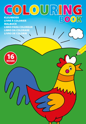 Billede af A4 malebog til børn