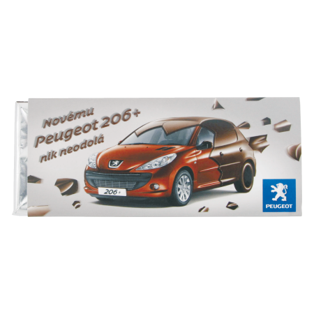 Billede af Chokolade bar 50 gr. Barry Callebaut