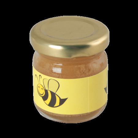 Billede af Mini marmeladeglas med honningblomst