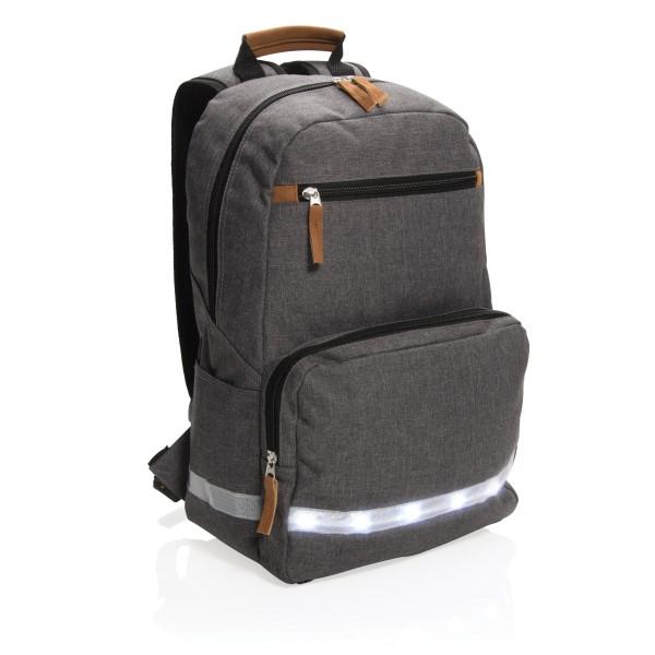 """Billede af 13"""" laptop rygsæk med LED lys"""