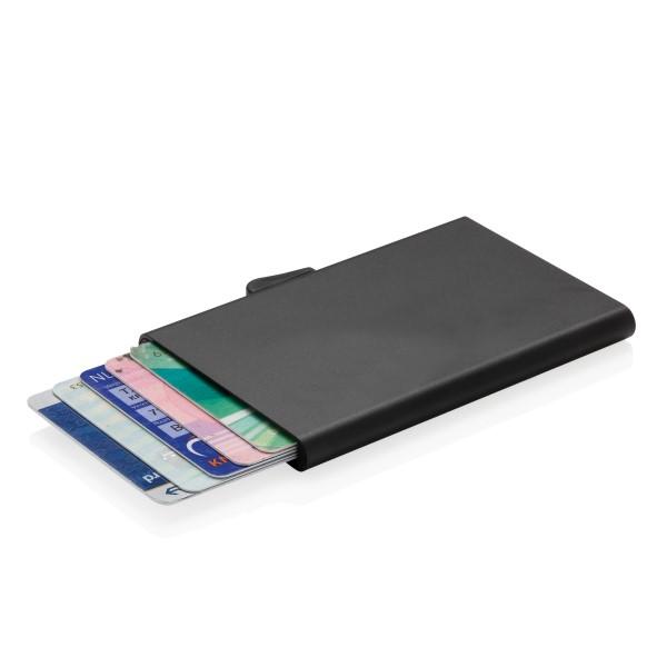 Billede af C-Secure aluminium RFID kort holder